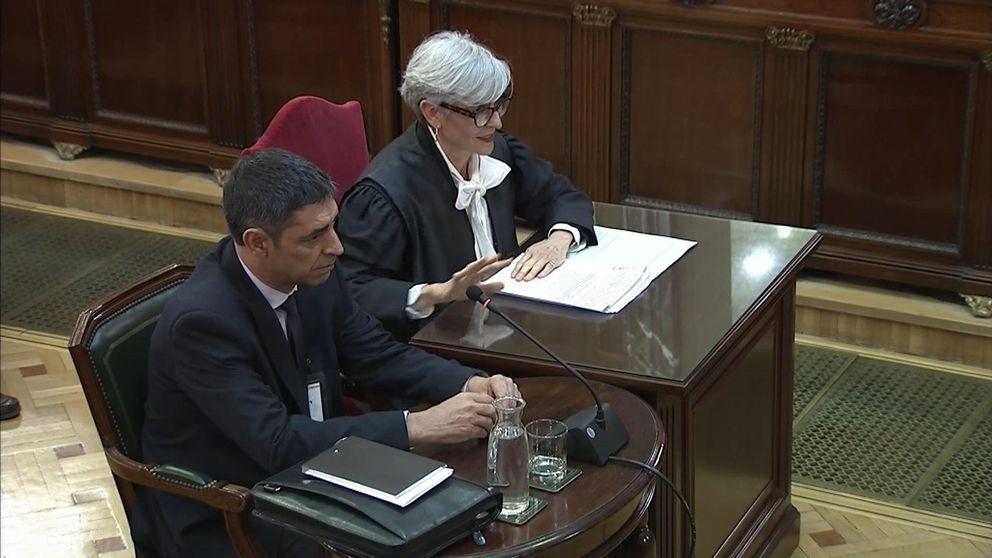 Las frases de Trapero en el juicio: No es verdad que la secretaria saliera camuflada