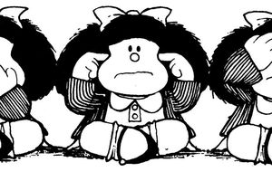 Mafalda no usa tarjetas B