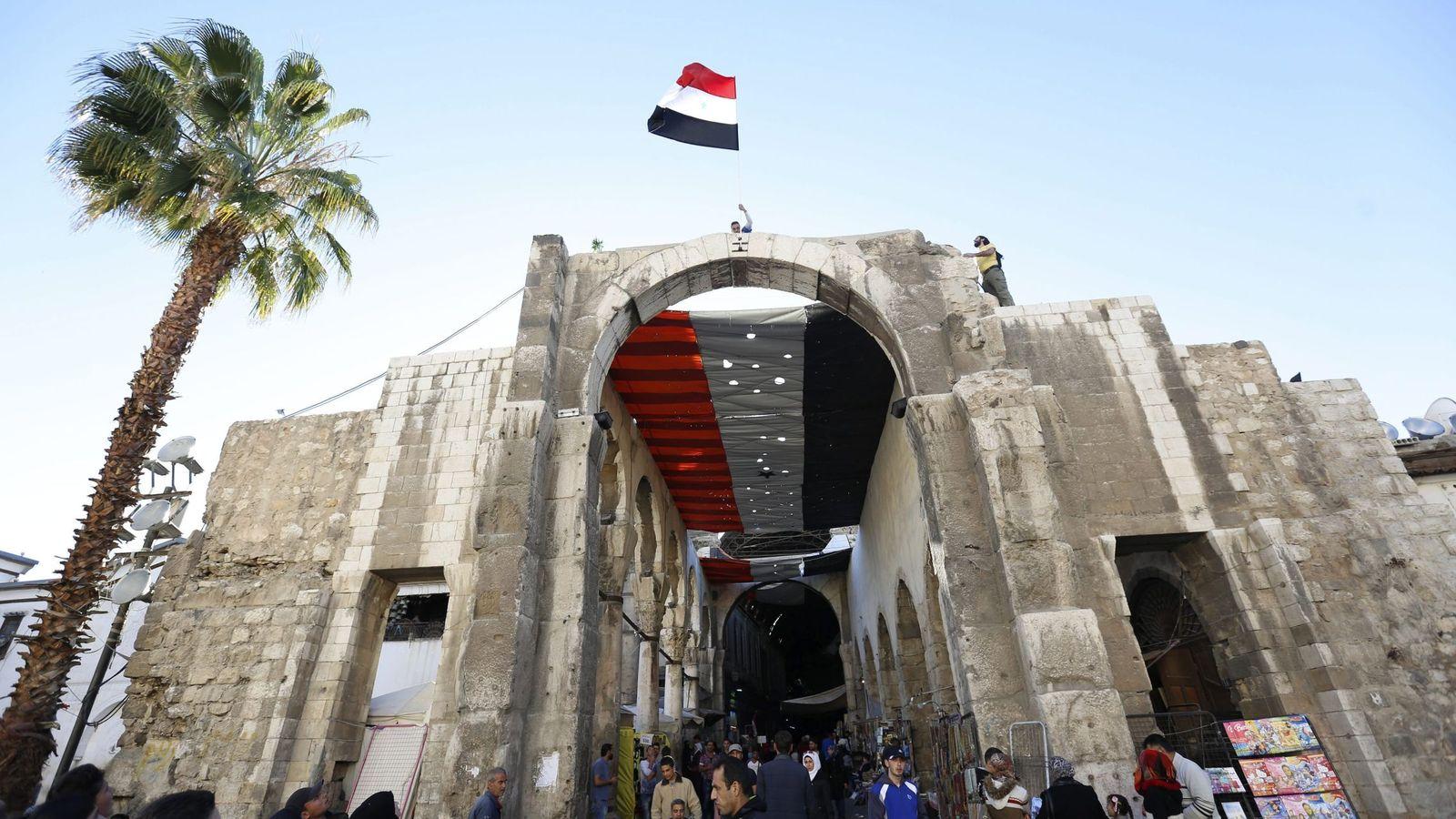 Foto: Campaña del Ministerio de Turismo de Siria para impulsar la llegada de viajeros al país   Foto: EFE
