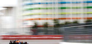 Post de Carlos Sainz, o por qué un coche de carreras pierde su 'punto dulce' en un par de horas