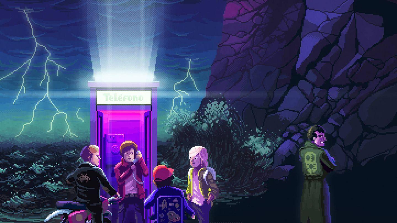 Detalle del cartel promocional de 'Paraíso'. (Movistar )