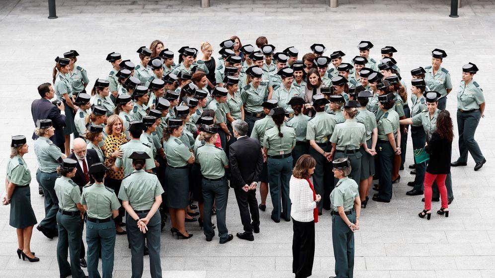 Foto: 30 aniversario del ingreso de la mujer en la Guardia Civil. (EFE)