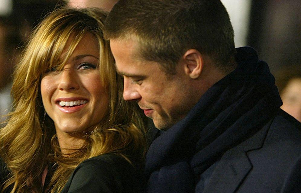Foto:  Brad Pitt y Jennifer Aniston. (Getty)