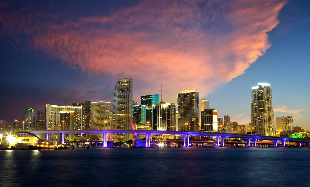 Foto: Una imagen del skyline de Miami. (VA)