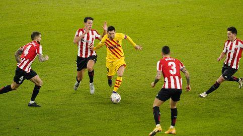Leo Messi elige San Mamés para resucitar en el mejor partido del Barça en LaLiga (2-3)