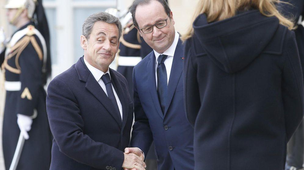 Foto: François Hollande y Nicolas Sarkozy. (EFE)