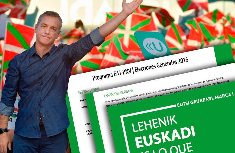 Foto: Programa electoral del PNV: qué dice Urkullu sobre independencia, eutanasia... (C.Castellón)