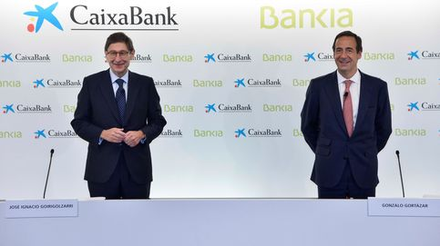 Caixabank y Bankia refuerzan su capital previo a la fusión