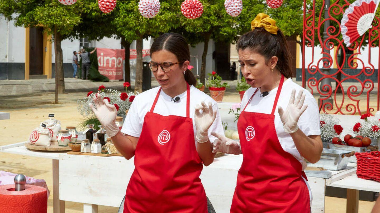 Meri y Ofelia, en 'Masterchef 9'. (TVE)