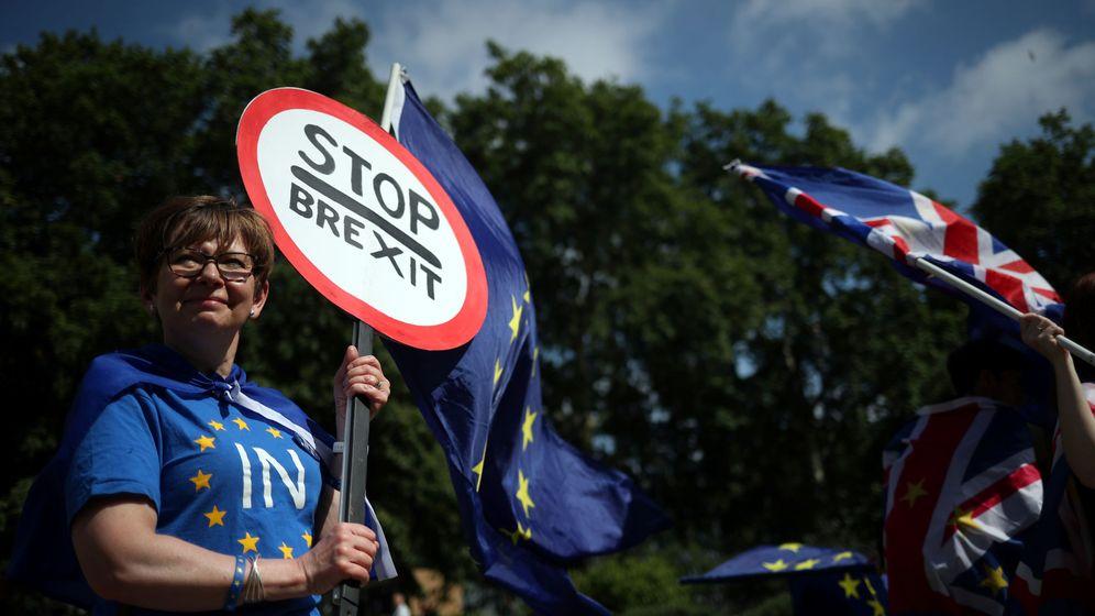 Foto: Protestas por el Brexit. (Reuters)