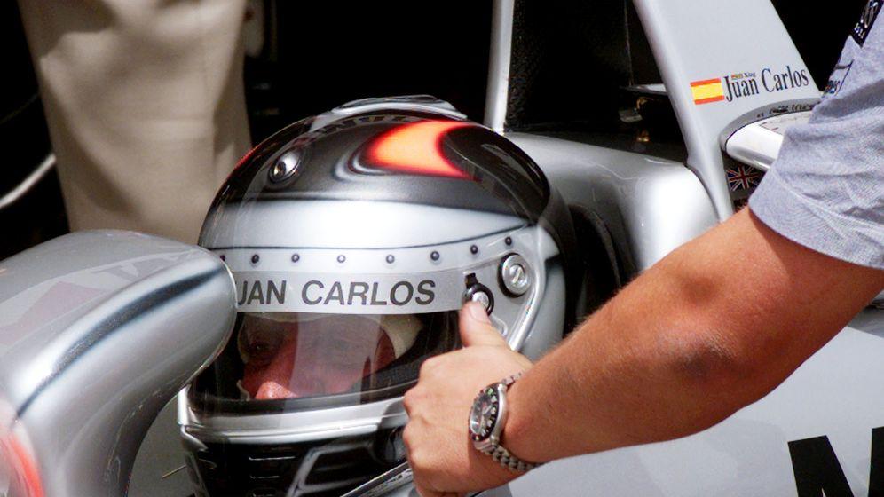 Foto: Imágenes de Don Juan Carlos, el Rey de la Fórmula 1