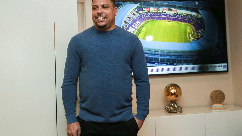 Ronaldo Nazario, presidente del Real Valladolid. (EFE)