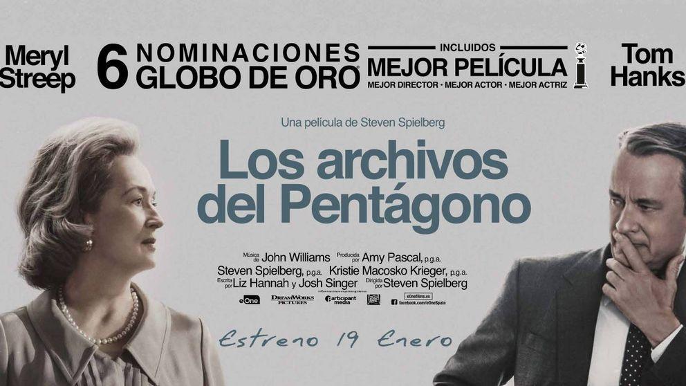 Sorteamos 5 entradas dobles para el preestreno de 'Los Archivos del Pentágono'