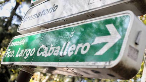 Madrid inicia la tramitación para renombrar las calles Largo Caballero e Indalecio Prieto
