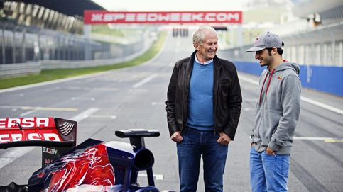 Final feliz para la gorra de la suerte de Sainz que Alonso mandó a las nubes