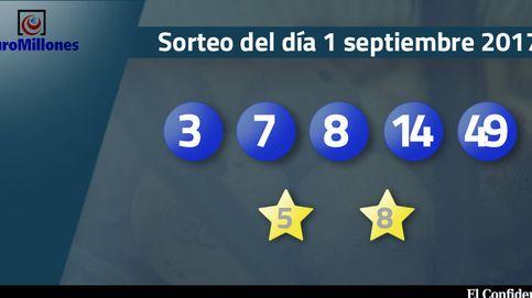 Resultados del sorteo del Euromillones del 1 de septiembre de 2017