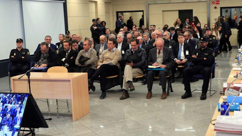 Imagen general del juicio de Bankia. (EFE)