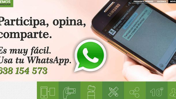Foto: Los partidos que utilizan ilegalmente WhatsApp para hacer campaña electoral