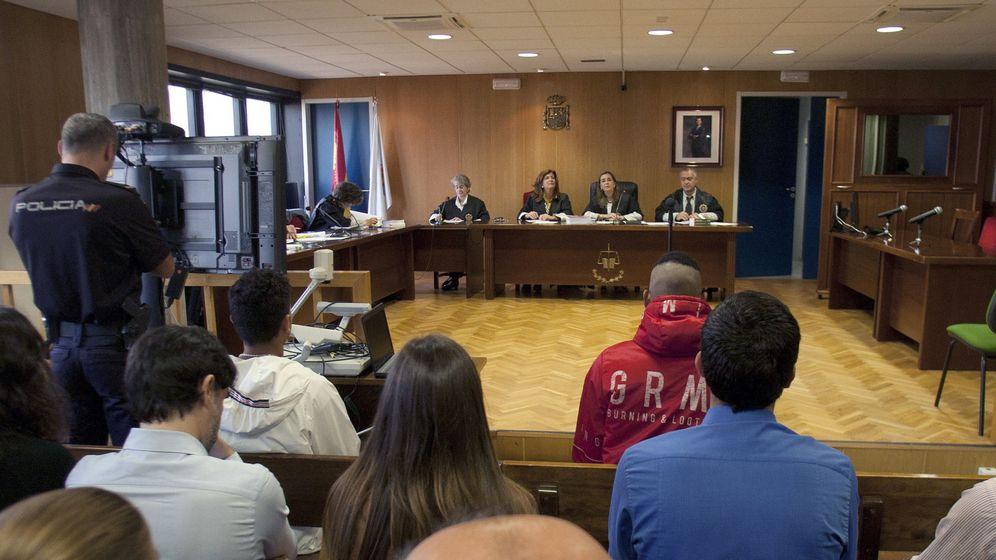 Foto: Un juicio en 2017 en los juzgados de Vigo. (EFE)