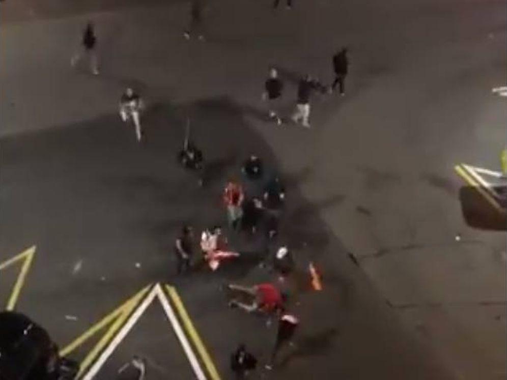 Foto: Captura de un vídeo de la agresión.