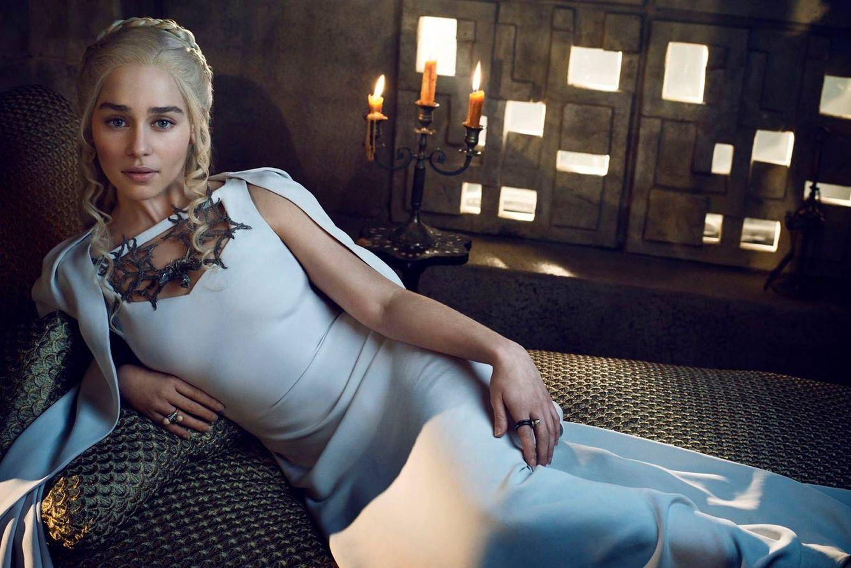Foto: Emilia Clarke como Daenerys