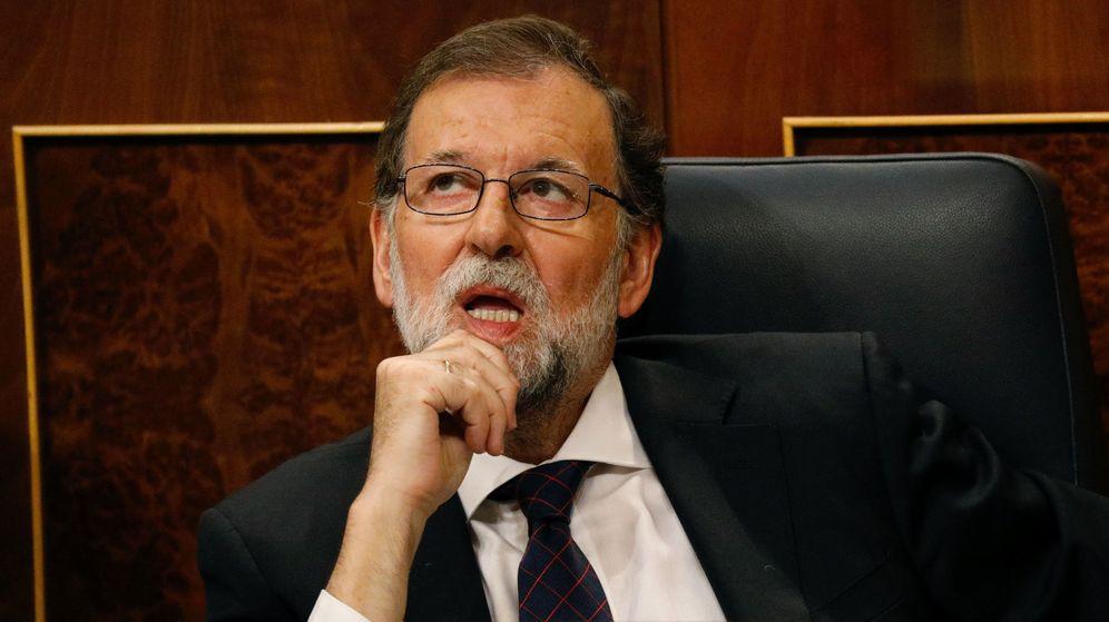Foto: Mariano Rajoy, durante el Pleno del Congreso en el que ha respondido sobre el caso Gürtel. (Reuters)