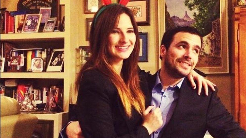 Foto: Así es la vida de Alberto Garzón y su novia