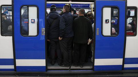 La huelga del metro de Madrid, en imágenes
