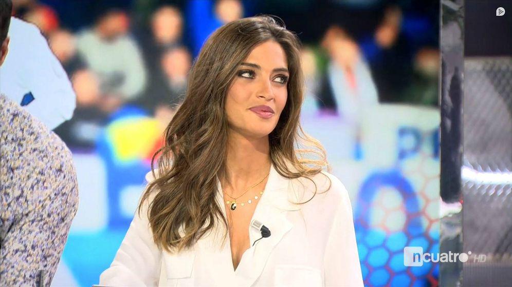 Foto: Sara Carbonero, en 'Deportes Cuatro'. (Mediaset España)