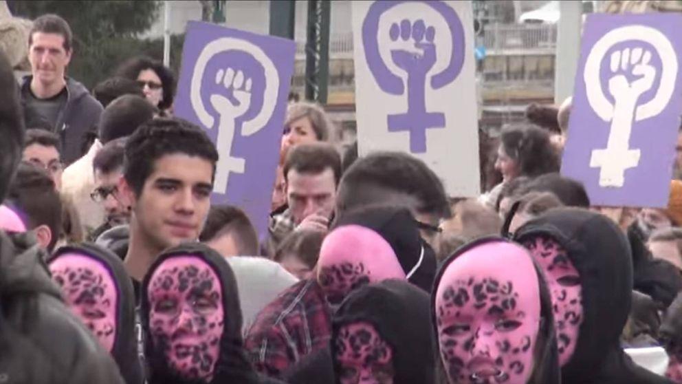 El vídeo 'Help Catalonia' usó imágenes de manifestaciones en Galicia