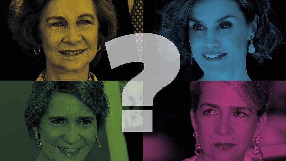 De la Reina Letizia a la infanta Cristina: ¿qué mujer de la familia real eres?