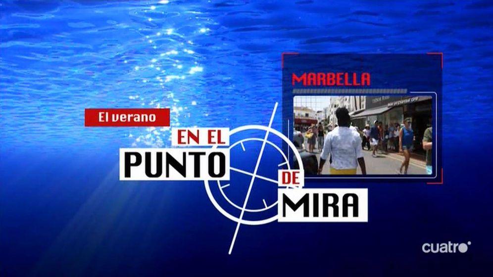 Foto: Logotipo de la versión veraniega del espacio 'En el punto de mira'.
