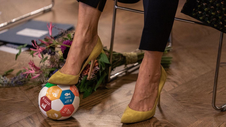 Los zapatos de Gianvito Rossi que tiene Mary. (EFE)