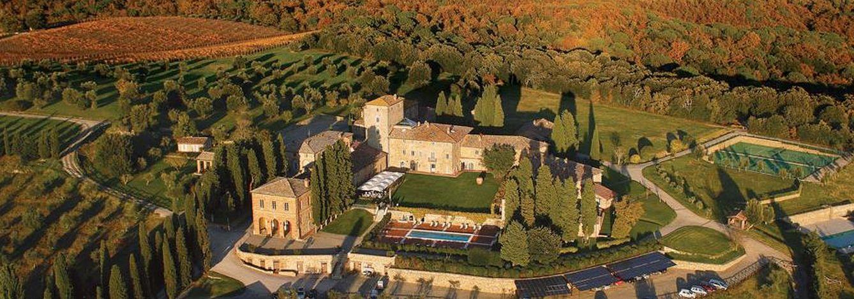 Foto: El majestuoso Borgo Scopeto Relais en tierras de la Toscana
