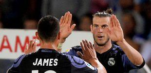 Post de El problema del Real Madrid: evitar que James se junte con Bale en la pretemporada