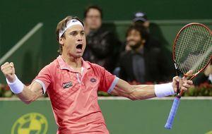 Ferrer resiste a las 'bombas' de Karlovic y jugará la final de Doha