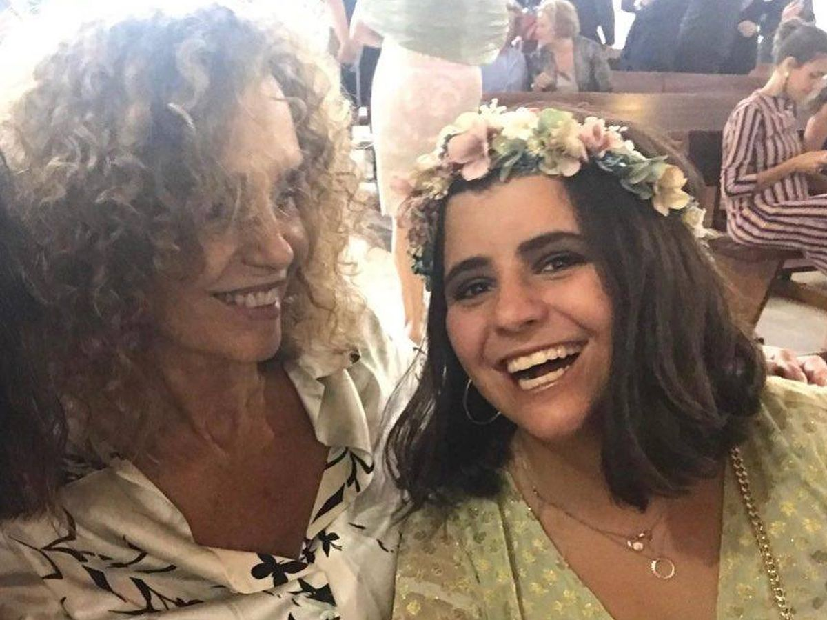 Foto: Casilda Arena y su madre, Bárbara Pan de Soraluce. (Redes sociales)