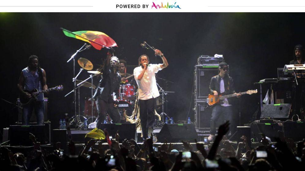 Foto: Damian Marley en una de las primeras ediciones del Weekend Beach. (EFE)