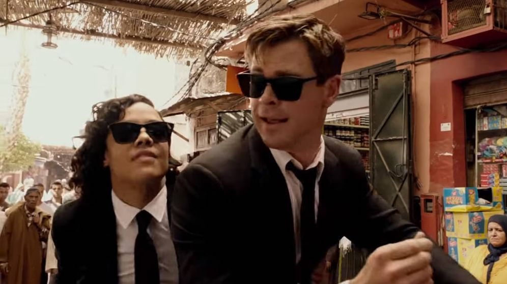 Foto: Tessa Thompson y Chris Hemsworth, protagonistas de Men In Black: International