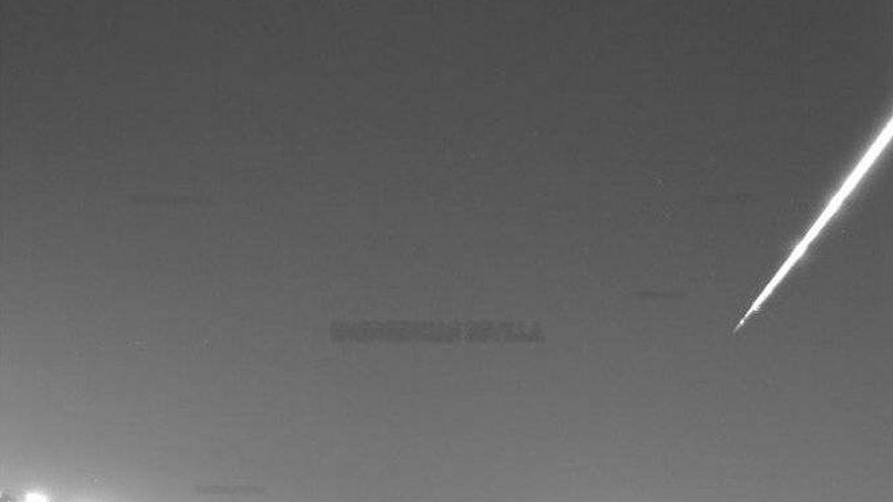 Una bola de fuego provocada por un asteroide surca el cielo de Andalucía