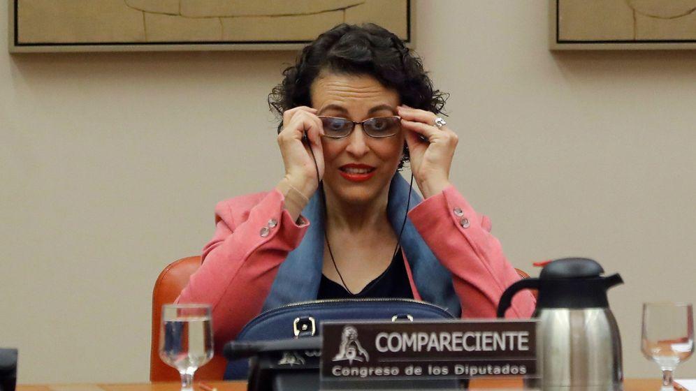 Foto: La ministra de Trabajo, Migraciones y Seguridad Social, Magdalena Valerio (Efe)