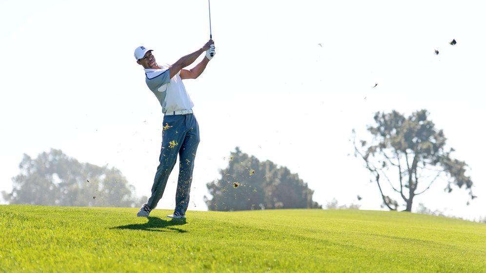 Foto: Tiger Woods se prueba en secreto en Augusta.