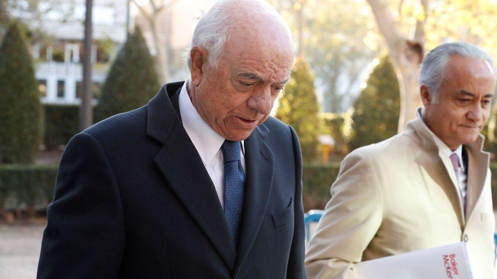 Foto: El expresidente de BBVA, Francisco González, en la Audiencia. (EFE)