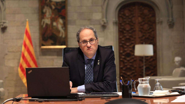 Torra ignora las presiones de ERC y mantiene su postura de evitar las elecciones