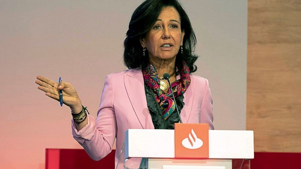 Foto: Ana Botín. (EFE)