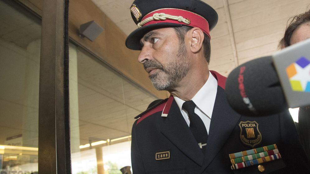 Foto: El major de los Mossos d'Esquadra, Josep Lluís Trapero. (EFE)
