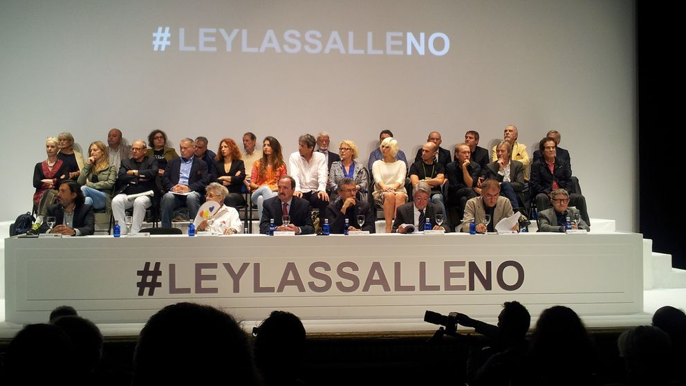 Del 'No a la guerra', al 'No a la Ley Lassalle'