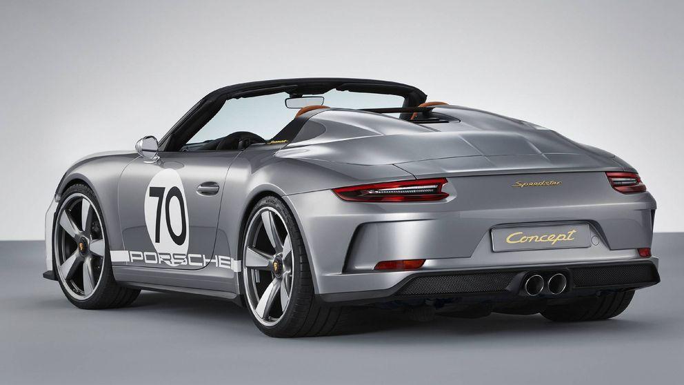 Porsche celebra sus 70 años a lo grande, con sus nuevos 911 Speedster y Taycan