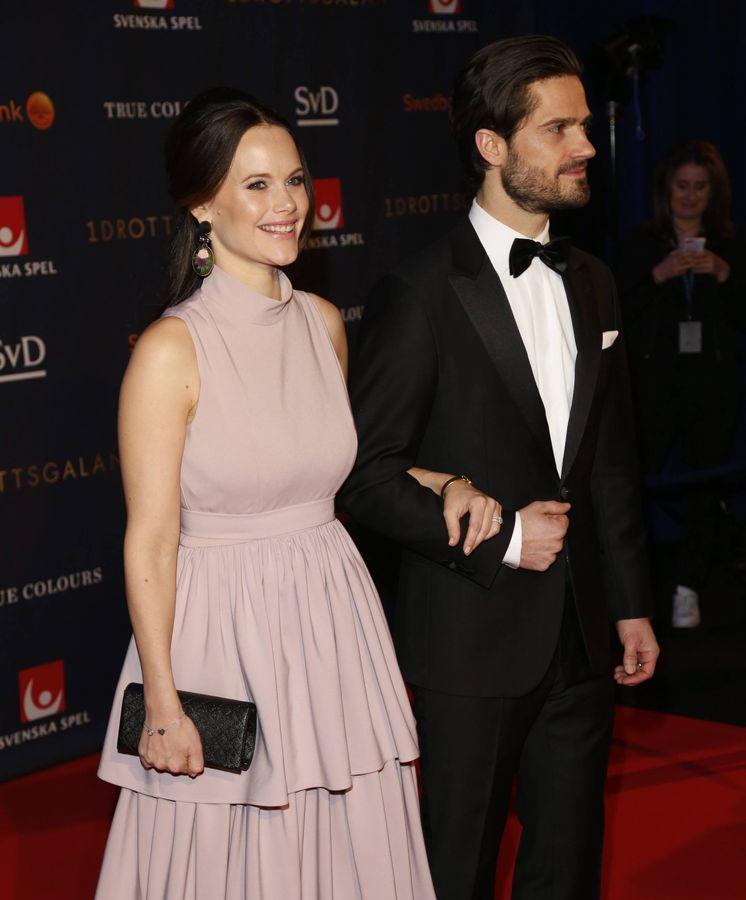 Foto: La princesa Sofía junto a su marido. (Cordon Press)