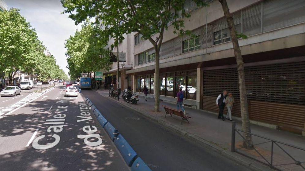 Foto: La calle Príncipe de Vergara, donde se encuentra el edificio okupado. (Google Maps)